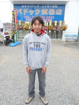 斉藤営業技術員通称「ツバサ」